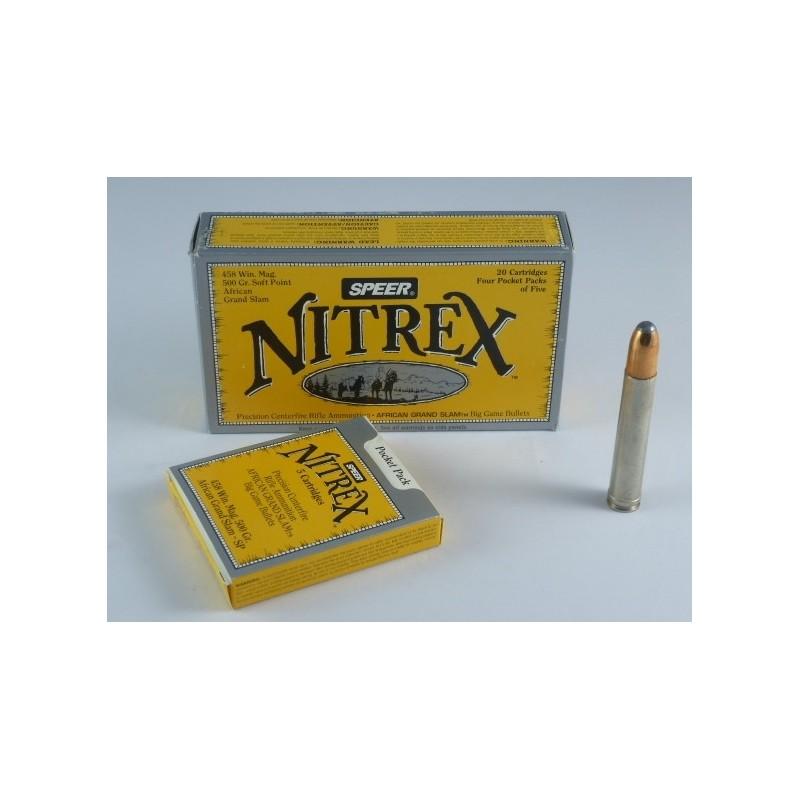 MUNICION SPEER NITREX .458 WIN MAG 500gr. SOFT POINT AFRICAN GRAND SLAM