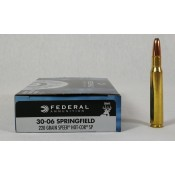 MUNICION FEDERAL PREMIUM CAL. 30-06 220 GR. SOFT POINT